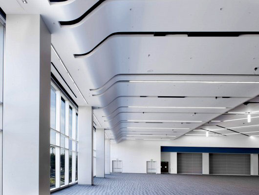 Conwed Eurospan™ Stretched Fabric Acoustical Ceiling System