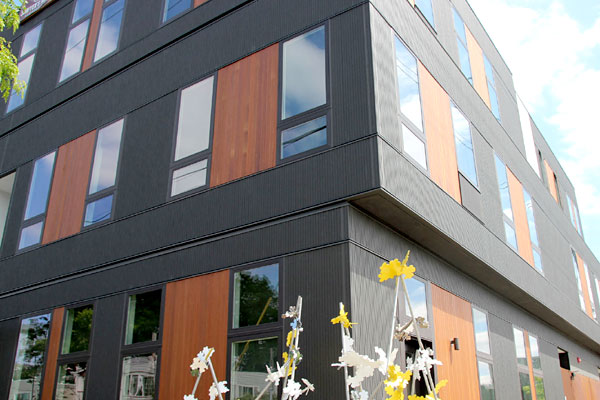 CERACLAD Ceramic Coated Rainscreen                   Cladding