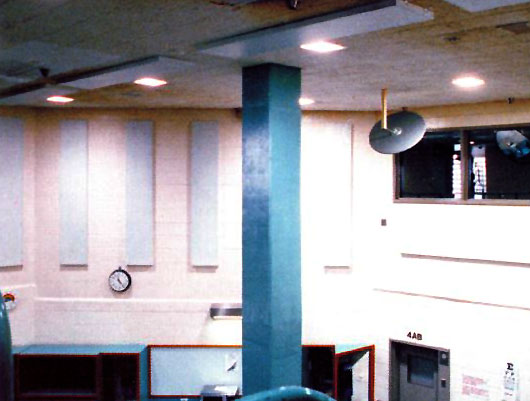 Eckel's Ekoustic Correctional (ECP) Acoustic Metal Panels For Correctional Facilities