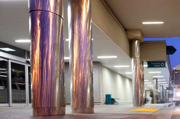 Pittcon Polished Stainless Steel Column Covers