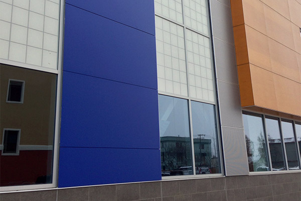 Exteriors Phenolic Resin Cladding Panels